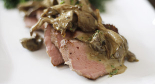 Health-Bent | Paleo Recipes | Steak with Sherry, Mushroom Cream …